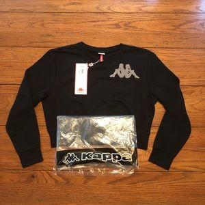 Kappa Tops - Women's NWT Kappa Sweater Top Crewneck NEW!